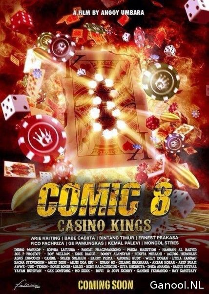 Comic 8: Casino Kings (2015)